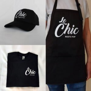 Ensemble produits Chic Resto Pop