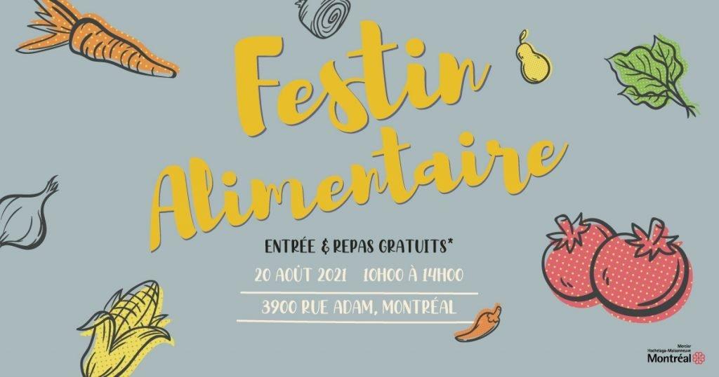 Publication facebook festin alimentaire